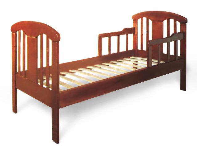 Подростковая кровать с планками безопасности